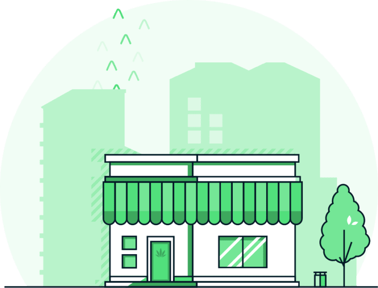 Weed Dispensary Storefront
